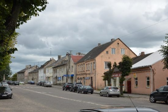 Pagrindinė miesto gatvė, kurią planuojama sutvarkyti. Autoriaus nuotr.