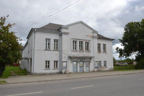 Seniai neveikiantis Kalvarijos kino teatras.