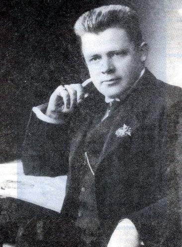 """J. Vaičkus laikomas ir Kauno dramos pradininku – jis 1920 metais parodė pirmąjį spektaklį (""""Joninės"""") šiame mieste. Mažeikių krašto enciklopedijos nuotrauka."""