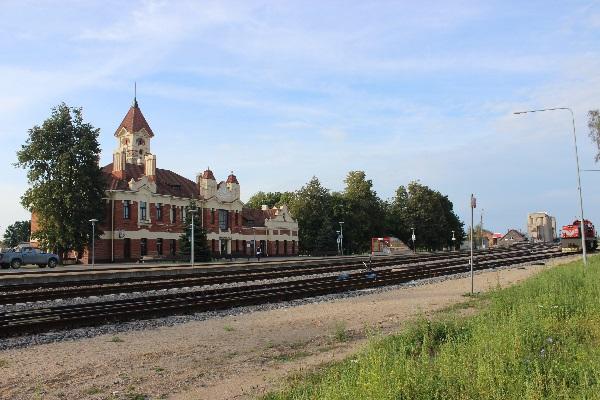 Marijampolės geležinkelio stotis. Autorės nuotr.