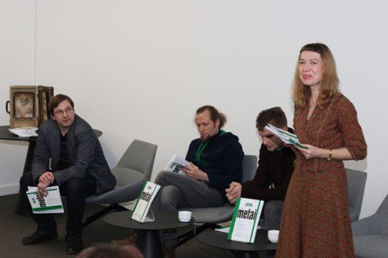 Renginio organizatoriai: vyr. redaktorius Antanas Šimkus, Marius Burokas, Simonas Bernotas, Laura Sintija Černiauskaitė. V. Juozaičio nuotr.