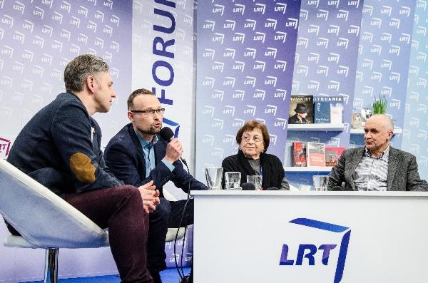 LRT studijos forume pašnekovai svarstė aktualius Lietuvos žydų kultūros klausimus. A. Eikevičiūtės nuotr.
