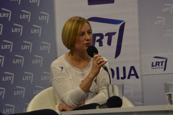 Lietuvos kultūros instituto direktorė Aušrinė Žilinskienė. Autorės nuotr.