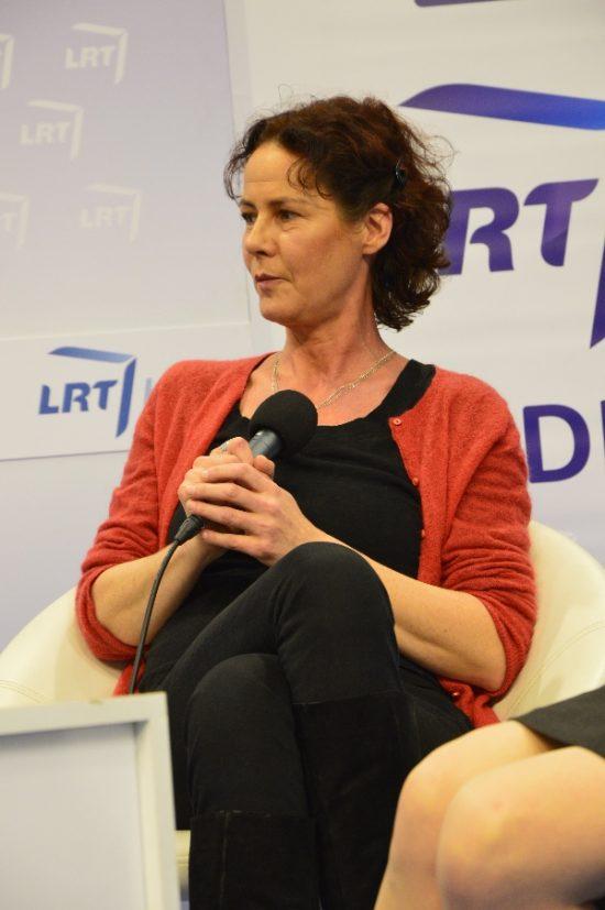 Lietuvių literatūros vertėja į vokiečių kalbą Claudia Sinnig. Autorės nuotr.