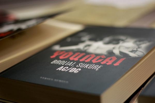 Jesse Finko knyga pristatyta ir Vilniaus knygų mugėje. Autorės nuotr.