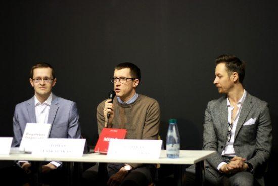 2.Iš kairės į dešinę – Tomas Norkaitis, Tomas Taškauskas, Justinas Kisieliauskas. Autorės nuotr.