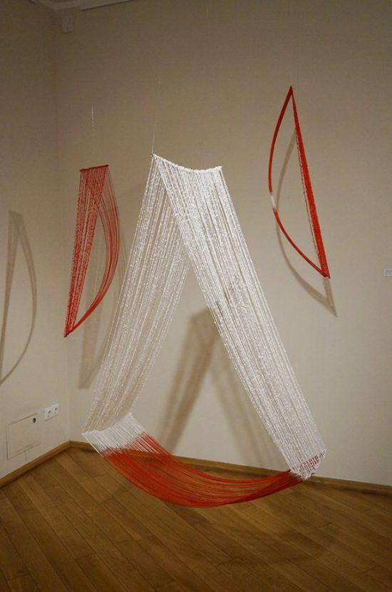 Kuratorės teigimu muziejaus lankytojus stebina japonų darbų kontrastas. Parodos organizatorių nuotr.