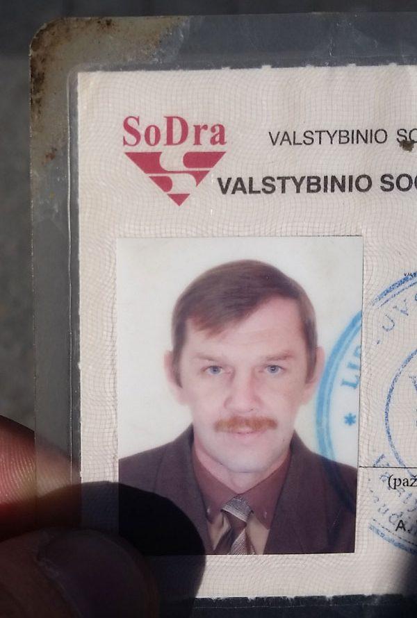 Sergej V. prieš atsidūriant gatvėje. Pažymėjimui 13 metų. Autoriaus nuotr.