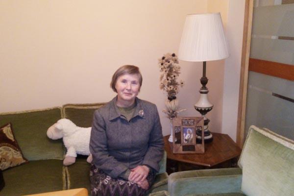 Motinos Teresės namų įkūrėja Regina Zabalienė. Asm. albumo nuotr.