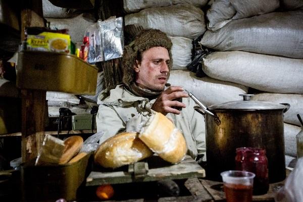 Ukrainos fronte esanti kareivių virtuvė. V. Balkūno nuotr.
