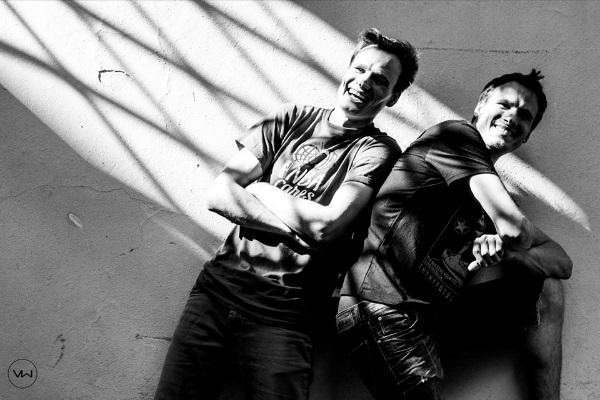 Broliai Algirdas ir Remigijus Gataveckai. Asmeninio albumo nuotr.