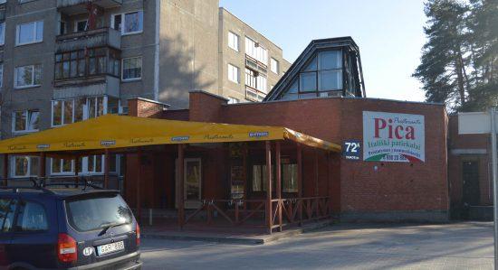 """Prieš keturis metus įkurta picerija ,,Prestorante"""" yra viena populiariausių kavinių Visagine."""