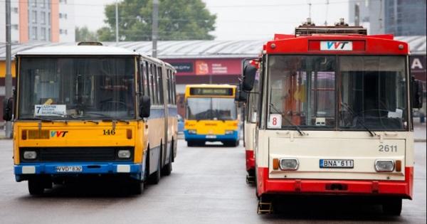 Vilniaus viešasis transportas. K. Kavolėlio nuotr.