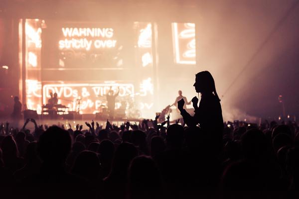 """Bastille"" koncerto Vilniuje akimirka. Manto Repečkos nuotr."