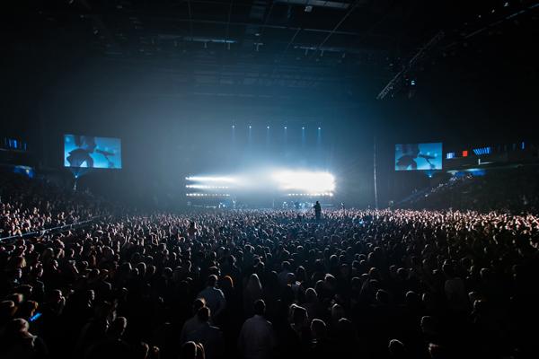 """rupė """"Lilas ir Inommine"""" į savo koncertą sukvietė tūkstančius žiūrovų. Manto Repečkos nuotr."""