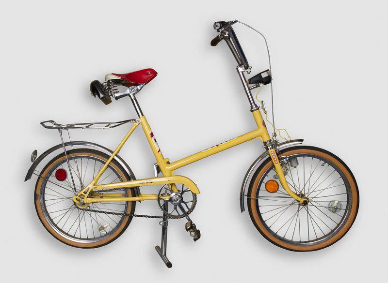 """Vyriškas dviratis """"Ereliukas-8"""", 1984 m. Šiaulių """"Aušros"""" muziejaus nuotr."""