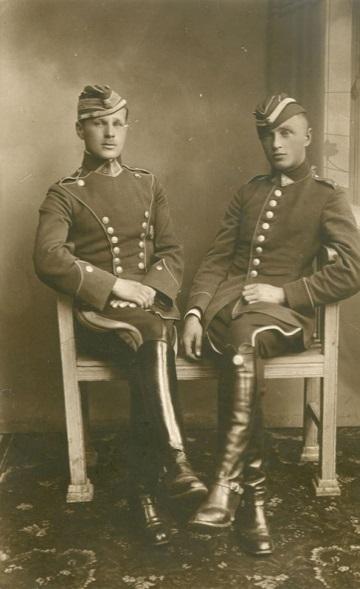 Lietuvos kariuomenės kariai, 1920 m. Vilkaviškio krašto muziejaus nuotr.