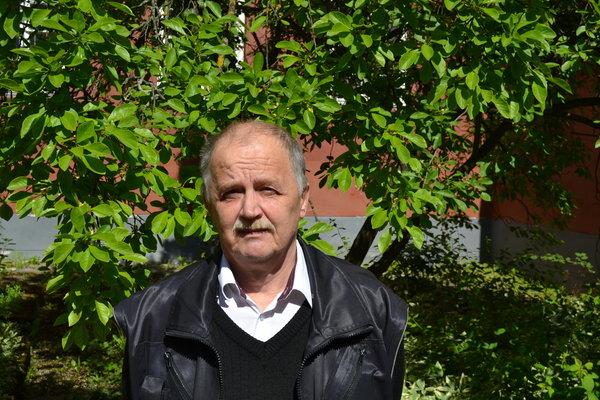 Osipas Pansevičius. Autorės nuotrauka.