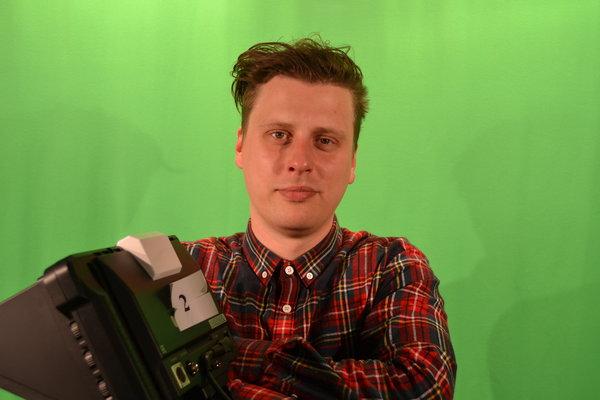 Tomas Jokūbonis. Autorės nuotrauka.