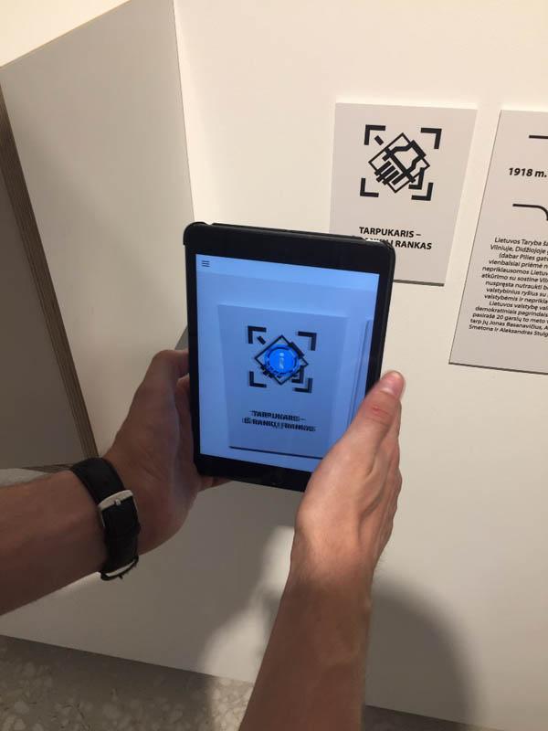 Šiuolaikinės technologijos Valstybės pažinimo centre. Asmeninio archyvo nuotr.