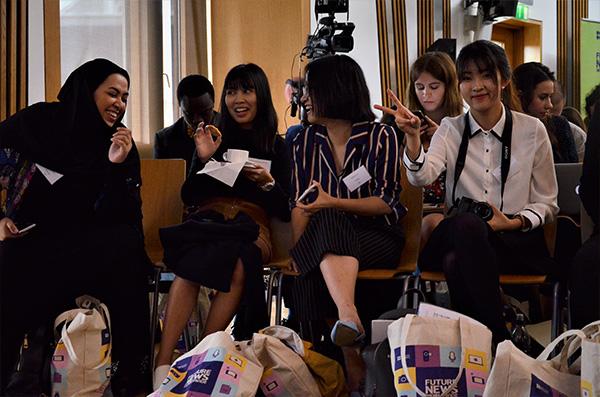 Dalyvės iš Azijos žemyno. Autorės nuotr.