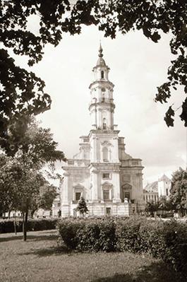 Kauno rotušė 1962 m. S. Lukošiaus nuotr.