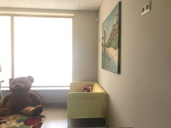 Vaikų žaidimų kambarys. Autorės nuotr.