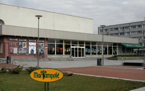 """""""Spindulys"""" – vienintelis kino teatras, išlikęs Marijampolėje. Autorės nuotr."""