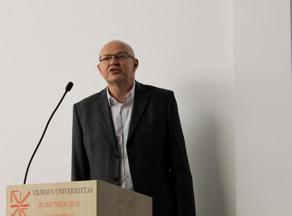 Prof. dr. Gintaras Aleknonis. Andriaus Nenėno nuotr.