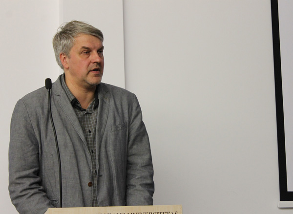 Prof. dr. Rimvydas Laužikas. Andriaus Nenėno nuotr.