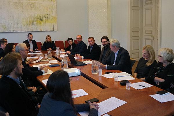 Antradienį Kultūros ministerijoje vykęs steigiamasis Lietuvos Medijų tarybos posėdis. Kultūros ministerijos archyvo nuotr.