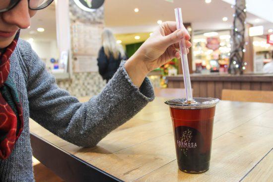 """Be originalių """"Formosa"""" burbulinių arbatų galima įsigyti kavos ar glotnučių. Andriaus Murausko nuotr."""