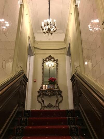Grafų Umiastovskių rūmų restauruotas vidus. Autoriaus nuotr.