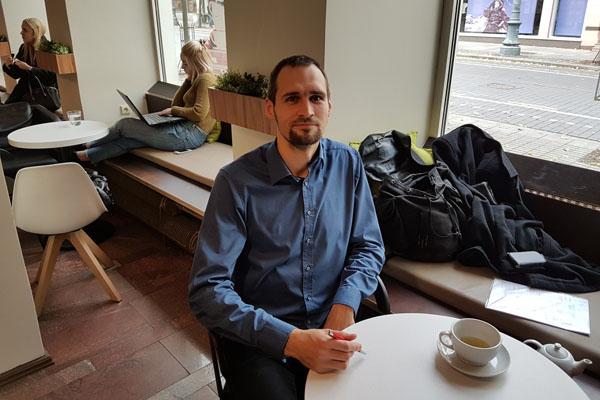 Kevinas-Chrisas Gründelis. Vilmanto Venckūno nuotr