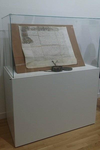 1563 metų Žygimanto Augusto privilegijos originalas. Autorės nuotr.