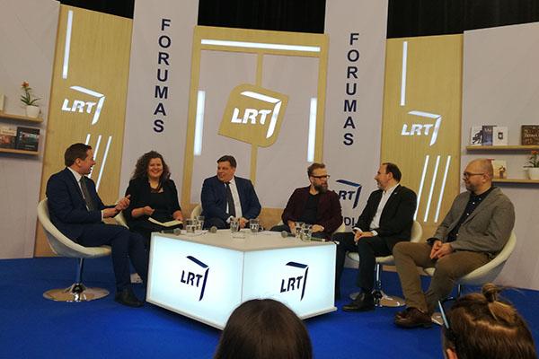 Diskusijos akimirka. Autorės nuotr.