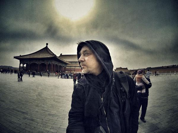 2. A.Mamontovas Kinijoje. Asmeninio archyvo nuotr.