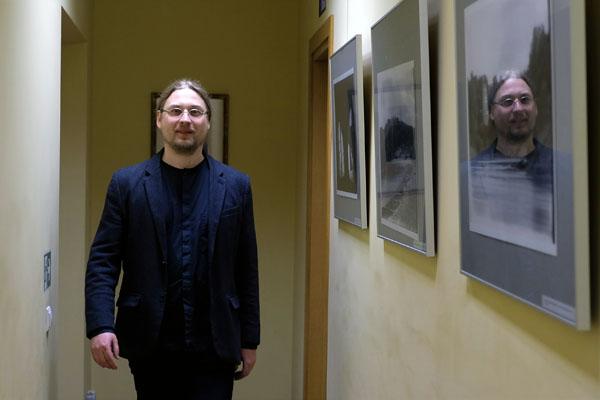 Olomouco universiteto Medijų, kultūros ir žurnalistikos studijų katedros atsakingasis sekretorius dr. Martin Foret. Ž. Mitkaus nuotr.