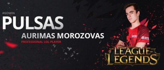 """Aurimas Morozovas-Pulsas. """"GamersOrigin"""" nuotr."""