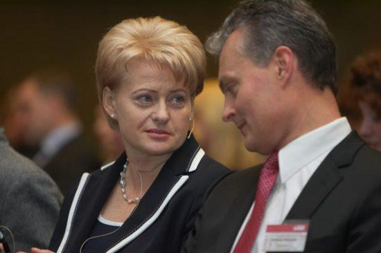 Ar taps G. Nausėda D. Grybauskaitės įpėdiniu? Vladimiro Ivanovo/VŽ nuotr.