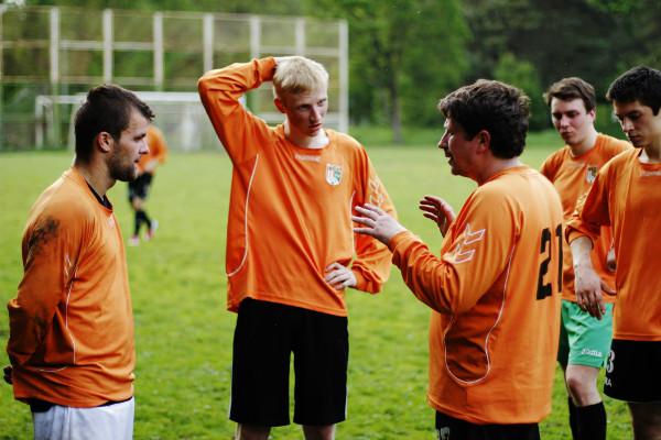 """Futbolo klubo """"Tera"""" komandos nariai. Asmeninio albumo nuotr."""