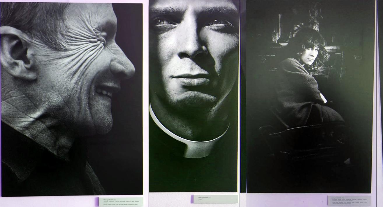 Algimanto Aleksandravičiaus sukauptą fotoportretų kolekciją tikrai verta pamatyti. Autorės nuotr.