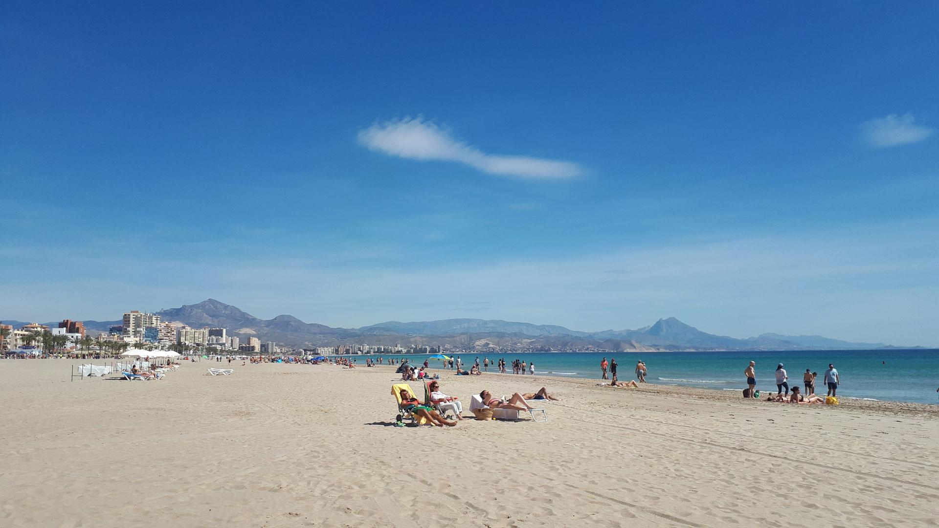 San Juan paplūdimys. Autorės nuotrauka.
