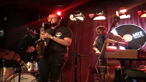 JazzCellar11 klubas atšventė Tarptautinę džiazo dieną. Autorės nuotr.
