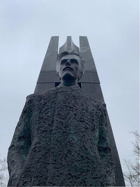 Paminklas Vincui Kudirkai. Skulptorius: Arūnas Sakalauskas, 2009 m. I. Kuraitytės nuotr.
