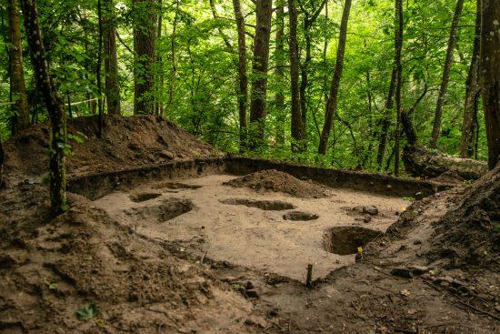 Archeologinių kasinėjimų vieta
