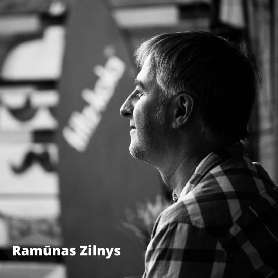 LRT.lt portalo muzikos skilties redaktorius Ramūnas Zilnys.  Ramūno Zilnio nuotr.