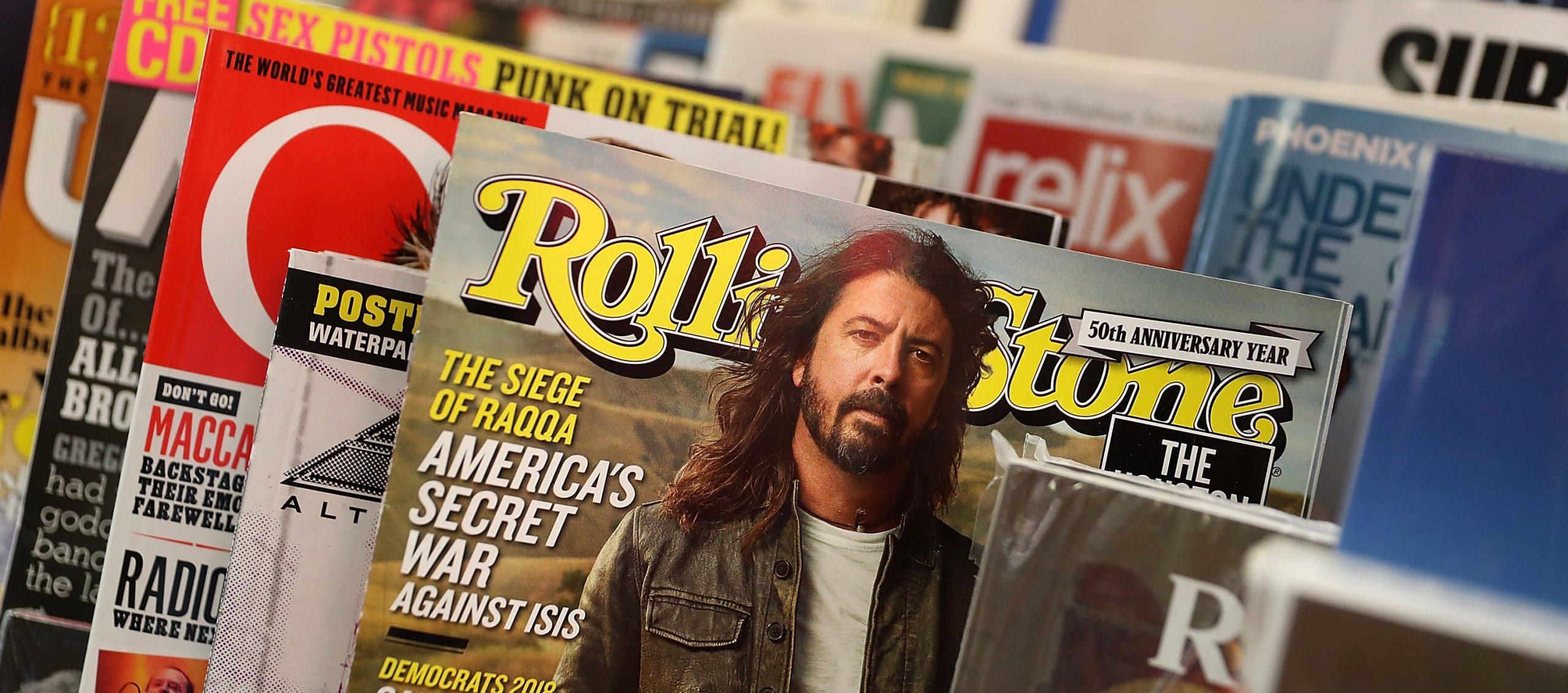Muzikos žurnalai – nykstanti muzikos žurnalistikos rūšis. Justin Sullivan ir Getty images portalo nuotr.