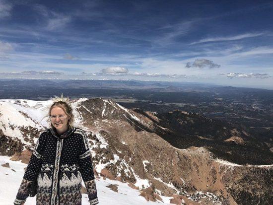 Pakeliui į Pikes Peak viršukalnę. Koloradas. Simonos Bataitytės nuotr.